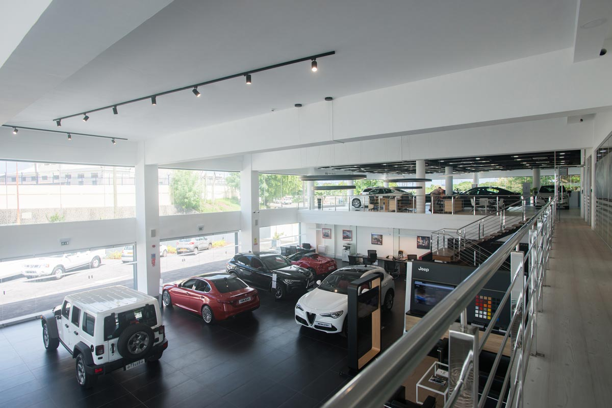 ID - ABC Motors - Interior - Top View
