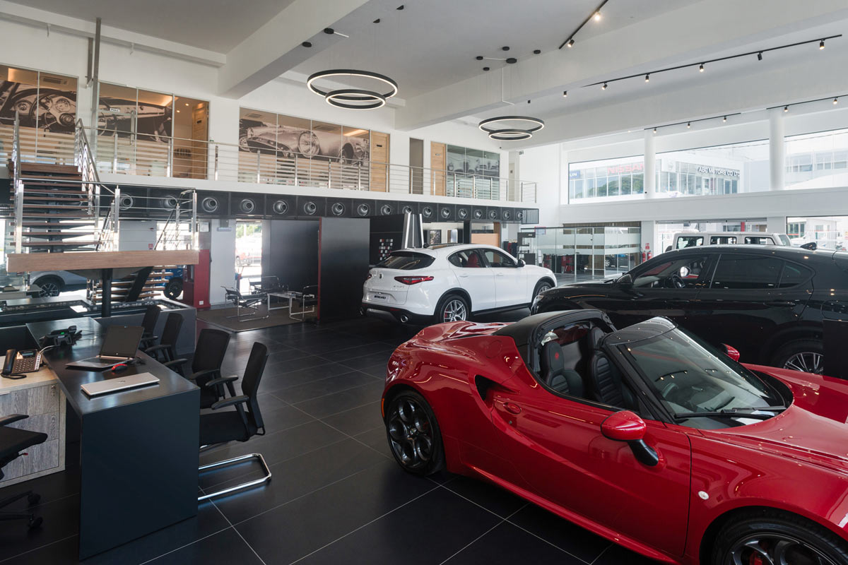 ID - ABC Motors - Interior - Ground View