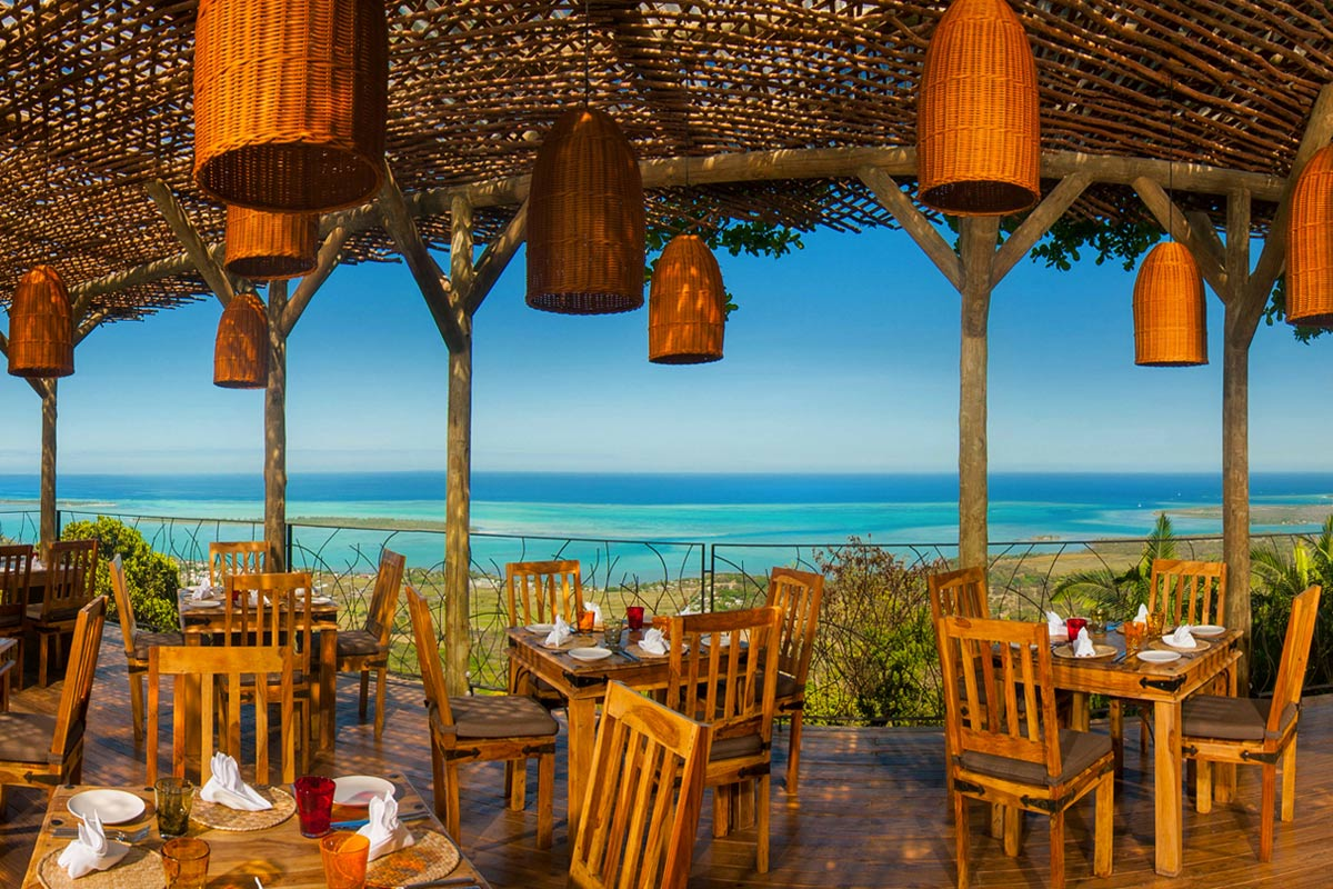 ID - Chamarel Restaurant - Interior - Restaurant Area